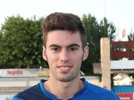 Alberto Martínez Oca, nuevo fichaje de La Roda CF. FOTO: La Roda CF