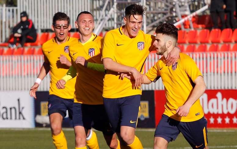 El Atlético ató a Alberto Salido, el máximo goleador juvenil. AtletiAcademia