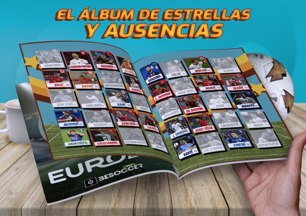 Estrellas y ausencias Eurocopa