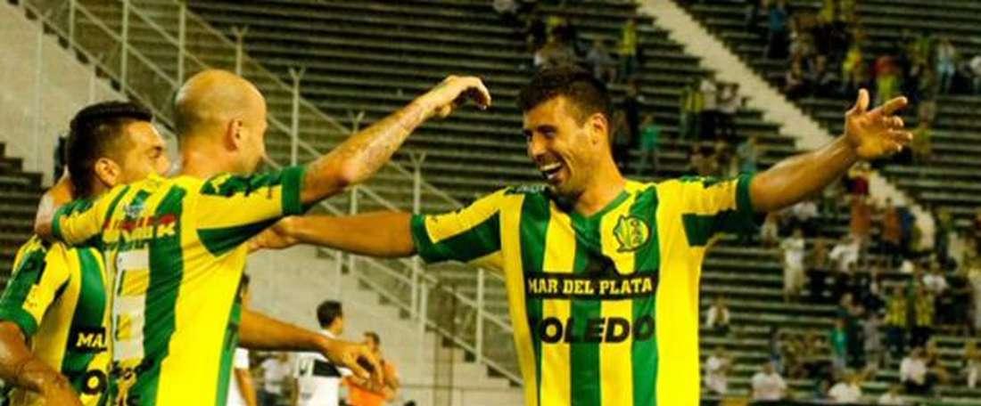 El conjunto argentino contará con los servicios de Quilez durante tres años más. ClubAtl.Aldosivi