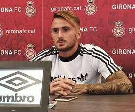 Aleix García refuerza al Girona. GironaFC
