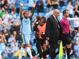 Le milieu de terrain de Manchester City est dans les petits papiers de Gérone. AFP