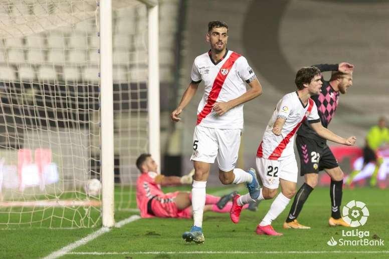 El Rayo venció al Sabadell. LaLiga