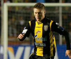 Alejandro Chumacero, máximo goleador de la Libertadores. EFE/Archivo