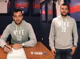 Rodríguez se quedará en Tigre hasta 2018. ClubAtléticoTigre