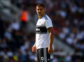 Aleksandar Mitrovic scored for Fulham after completing a permanent move. Twitter/FulhamFC