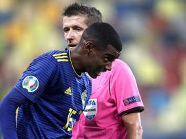 La Real Sociedad apporte son soutien à Isak victime de racisme. EFE