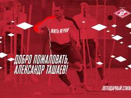 Tashaev is now a Spartak player. FCSM_Official