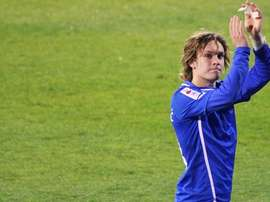 Alen Halilovic saluda a la afición en un partido del Dinamo de Zagreb. FCBarcelona
