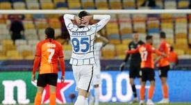 El Inter no pasó del 0-0 ante el Shakhtar Donetsk. EFE