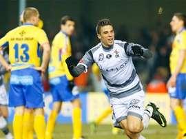 Alessandro Cerigioni será jugador del Beveren la próxima temporada. AFP