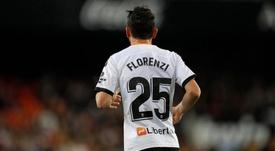 Florenzi salta la sfida contro l'Atalanta. ValenciaCF