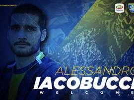 Alessandro Iacobucci, nueva incorporación del Frosinone. Twitter/Frosinone1928