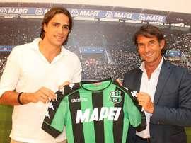 Matri llega al Sassuolo para disponer de los minutos que no podía disfrutar en Milán. Sassuolo
