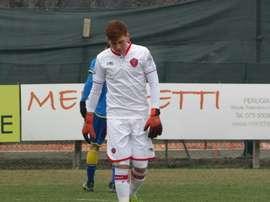 Alessandro Santopadre ha fichado por el Atalanta, pero seguirá jugando en el Perugia. PerugiaCalcio