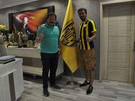 Cerci ya es jugador del Ankaragücü. Twitter/Ankaragucu
