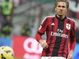 El italiano recibió los elogios de Pecchia. Twitter/Milan