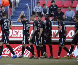 El Sporting ganó en Los Pajaritos. LaLiga