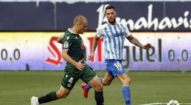 El Málaga venció por la mínima. LaLiga