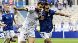 Arribas se lesionó en el último entrenamiento del Oviedo. LaLiga