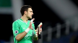 McCarthy prêt à être le remplaçant d'Alisson. SouthamptonFC