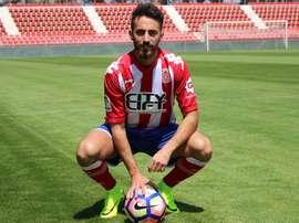 Álex Menéndez está sin equipo tras sus 'problemas' con el Girona. Gironafc