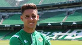 Alex Moreno est heureux d'avoir rejoint le Real Betis. RealBetis