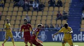 Empate (1-1) entre Alcorcón y Las Palmas. LaLiga