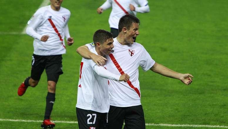 Álex Pozo podría jugar en el Mallorca. CanteraSevillaFC