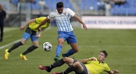 Álex Robles ha sido convocado por la Sub 19. MálagaCF