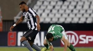 Empate a mala puntería. Botafogo