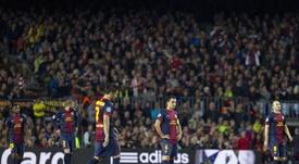 El Bayern fue el último en tomar el Camp Nou en Champions. EFE