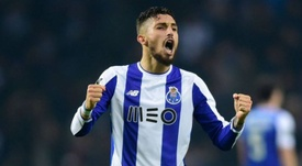 Telles will move to United. AFP