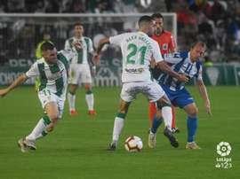 Álex Vallejo sabe lo que es jugar en Mallorca y Córdoba. LaLiga