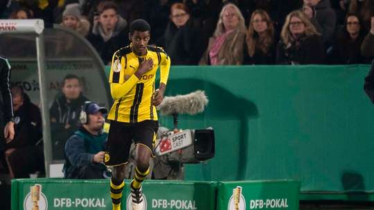 AIK in trouble over Isak switch. Twitter/BVB