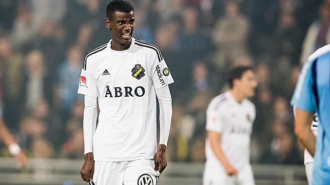 Isak has been dubbed as the 'new Zlatan Ibrahimovic'. AIKFotboll