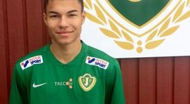 Alexander Jallow firma por el Jönköping Södra procedente del Brage. JönköpingSödra