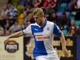 Alexander Merkel jugará las dos próximas temporadas en el Bochum alemán. I2