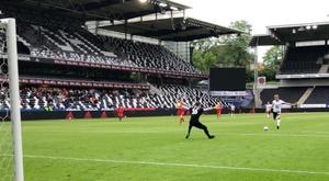 Alexander Soderlung, a lo Halanda, anotó cinco tantos en el amistoso. RBKfotball