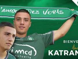 Katranis dará el salto a la Ligue 1. ASSaintEtienne