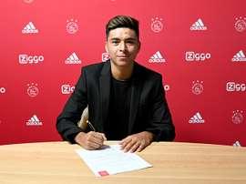 Alexis Méndez, nouvelle pépite pour l'Ajax. AjaxFC