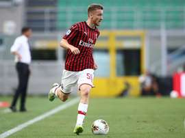 Milan have bought Saelemaekers. Twitter/ACMilan