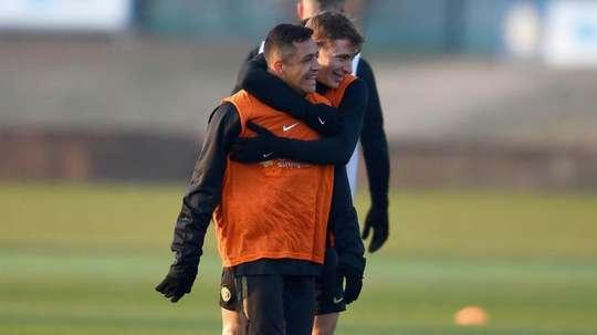 Alexis Sánchez peut compter sur le soutien de ses coéquipiers. Inter