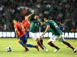 Chile salió victoriosa en el tramo final. EFE