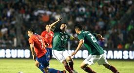 Marco Fabián, una nueva baja para la Copa Oro. SelecciónChilena