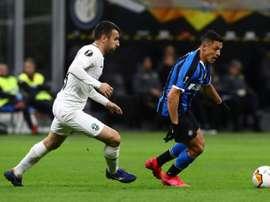 L'Inter batte il Ludogorets a San Siro. Twitter/InterFC