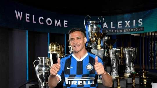 Alexis Sanchez va signer définitivement à l'Inter Milan.  Twitter/Inter