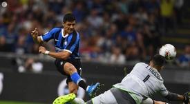 Alexis tem como objetivo ser campeão da Europa. Twitter/Inter