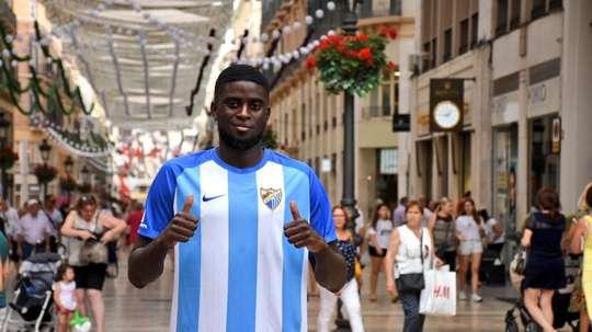 Alfred N'Diaye podrá jugar a mediados de noviembre con el Málaga. BeSoccer