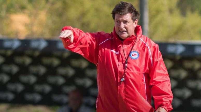 Berti llegó con fuerza a Belgrano. AAAJOficial